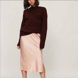 Theory Silk SLIM Skirt NWOT